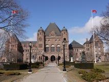Construção do parlamento de Ontário Fotografia de Stock