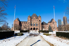 Construção do parlamento de Ontário Fotografia de Stock Royalty Free