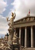 Construção do parlamento de Viena Imagens de Stock