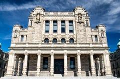 Construção do parlamento do Columbia Britânica Imagem de Stock Royalty Free