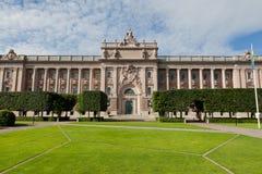 Construção do parlamento em Sweden Fotografia de Stock Royalty Free