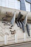 Construção do parlamento escocês em Edimburgo Imagem de Stock