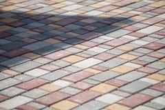 Construção do pavimento Foto de Stock Royalty Free