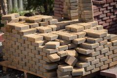 Construção do pavimento Imagens de Stock Royalty Free