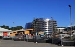 Construção do Planetarium de Rio Tinto Alcan, Montreal Imagens de Stock