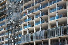 Construção do prédio de escritórios Imagens de Stock Royalty Free