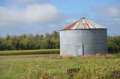 Construção do produto de exploração agrícola perto de Salem, Oregon Fotografia de Stock