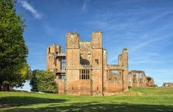 Construção do ` s de Leicester, castelo de Kenilworth, Warwickshire imagem de stock royalty free