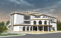 Construção do teatro Imagem de Stock