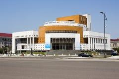 A construção do teatro Foto de Stock Royalty Free
