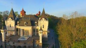 Construção do teatro acadêmico do fantoche de Kiev em Ucrânia video estoque