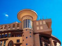 A construção do teatro em Moscou Foto de Stock Royalty Free