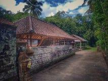 Construção do templo de Bali fotografia de stock