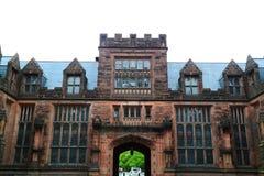 Construção do terreno de Universidade de Princeton imagens de stock