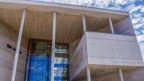 A construção do tribunal distrital em Katowice Foto de Stock Royalty Free