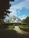 Construção do UFO fotografia de stock royalty free