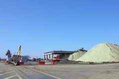 Construção do viaduto Foto de Stock