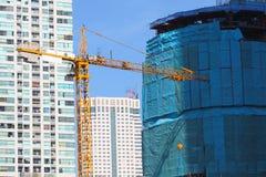 Construção do vidro novo Imagem de Stock Royalty Free