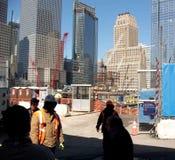 Construção do World Trade Center Imagem de Stock