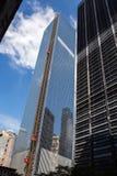 Construção do World Trade Center, New York Imagem de Stock