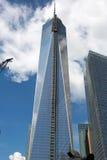 Construção do World Trade Center, New York Foto de Stock