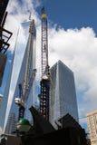 Construção do World Trade Center, New York Fotografia de Stock