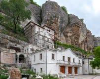 Construção dos apartamentos da habitação do monastério Imagem de Stock