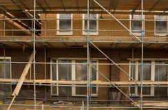 Construção dos bens imobiliários Fotos de Stock
