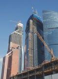 Construção dos prédios de escritórios foto de stock royalty free