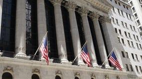 Construção e bandeiras do mercado de valores de ação fotografia de stock