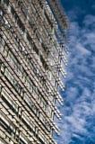 Construção e céu bonito Imagens de Stock