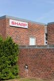 Construção e escritório afiados Fotografia de Stock