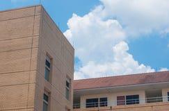 Construção e nuvem Imagem de Stock Royalty Free