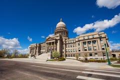 Construção e quadrado do Capitólio em Boise, Idaho Imagens de Stock Royalty Free