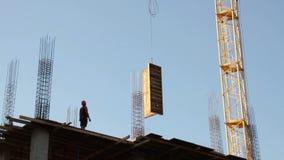 construção Edifício Homem armadura Guindaste filme
