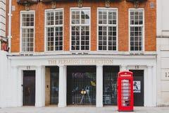 Construção elegante no featurin do centro de cidade de Londres e na galeria de arte Fotografia de Stock