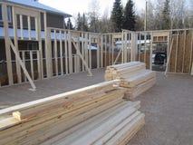Construção em andamento Fotos de Stock