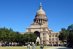 Construção em Austin, Texas do Capitólio fotografia de stock royalty free