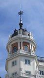Construção em Calle de Los Reyes no Madri Imagem de Stock Royalty Free