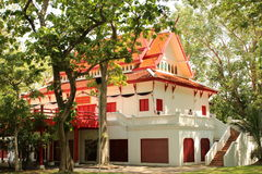 Construção em Chiang Mai University imagem de stock royalty free