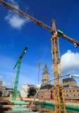 Construção em Groningen Foto de Stock