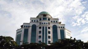 Construção em Kuching Sarawak foto de stock royalty free