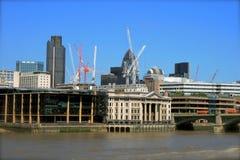 Construção em Londres imagens de stock royalty free