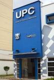 Construção em Quito, Equador da polícia do UPC Fotos de Stock Royalty Free