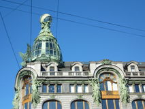 Construção em Saint-Petersbourg Imagem de Stock Royalty Free