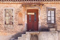Construção em Samos Fotografia de Stock Royalty Free