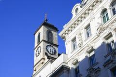 Construção em Viena fotos de stock royalty free