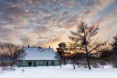 Construção em Wiek no inverno Imagem de Stock Royalty Free