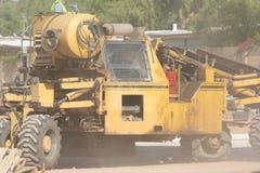 Construção empoeirada em Phoenix Imagem de Stock Royalty Free
