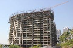 A construção era a construção Imagens de Stock